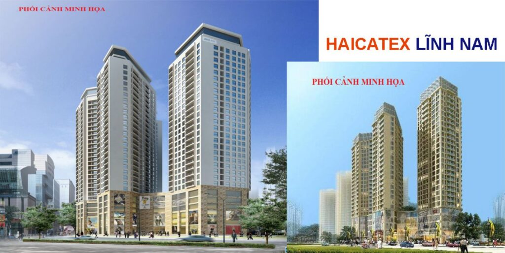 banner dự án chung cư Haicatex 93 Lĩnh Nam