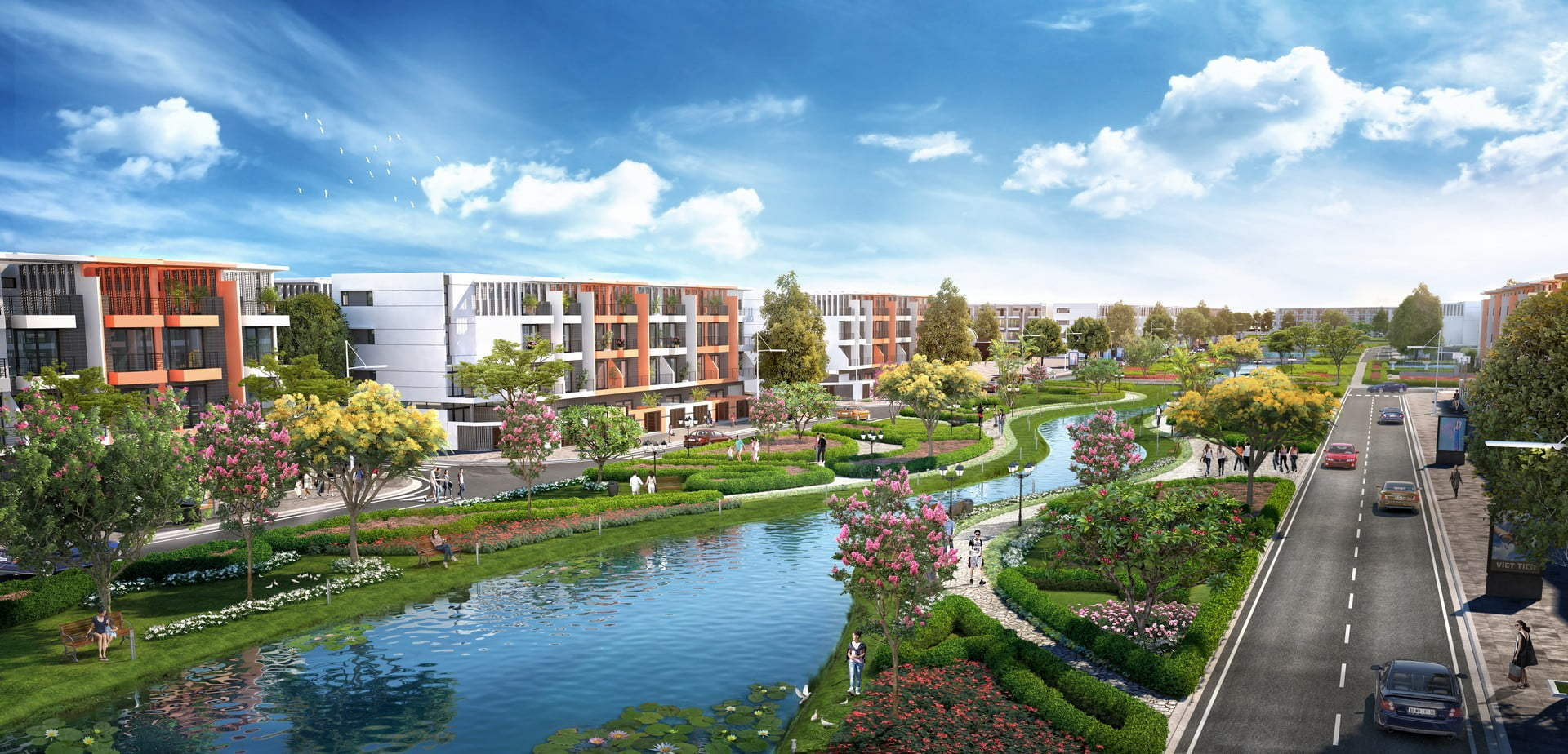 dự án River Silk City