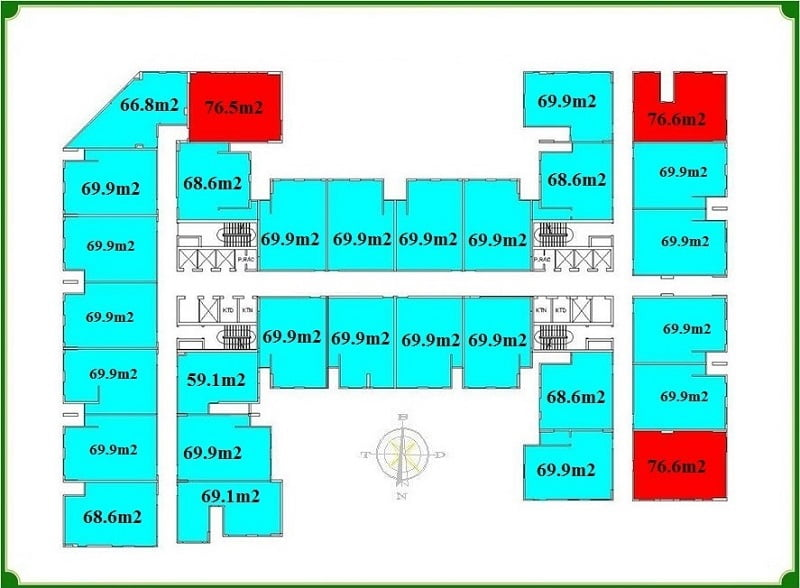 Nhà ở xã hội Him Lam Rice City Thượng Thanh – Không gian sống hoàn hảo 3