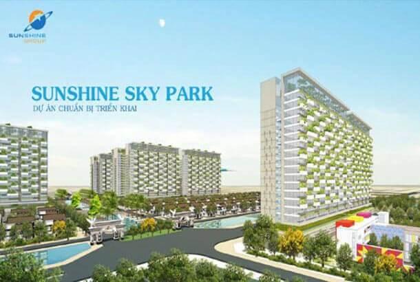 Tổng thể Dự án Sunshine Sky Park