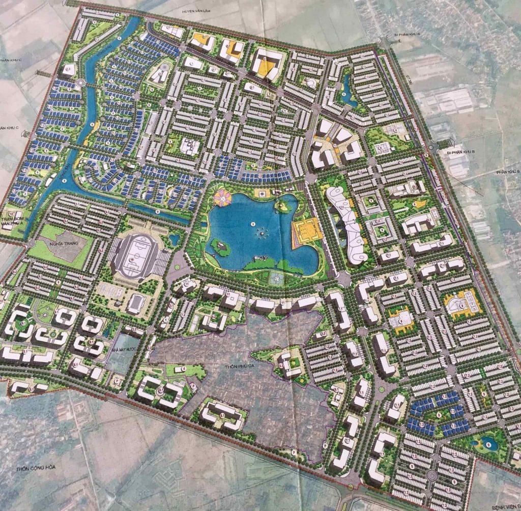 Quy hoạch dự án Hoà Phát Forestar Hưng Yên