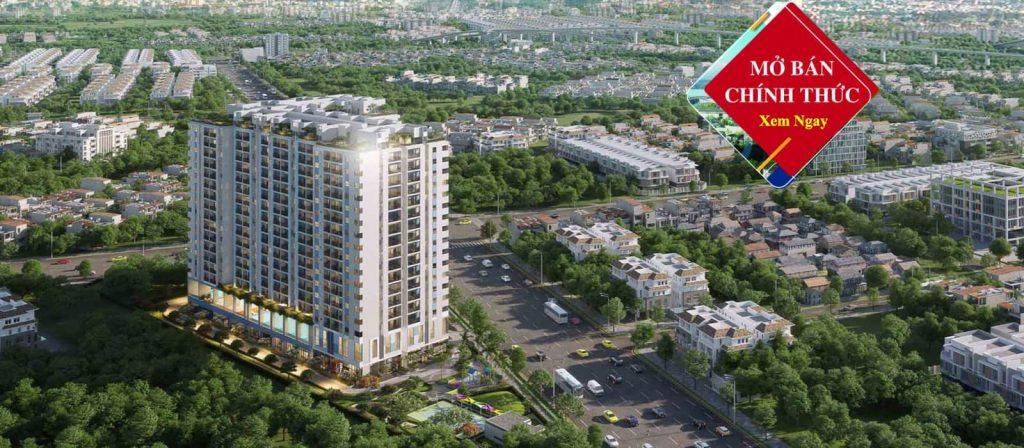 Tổng thể dự án Phương Đông Green Home
